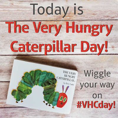 The Very Hungry Caterpillar, Giveaway, Carle, #VHCday, Bea's Book Nook