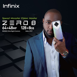 Infinix Announces Its New Flagship Smartphone Zero 8 with Advanced Camera Technology and Heavy-duty Processor. #Arewapublisize