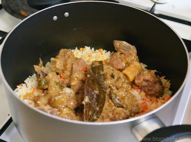 Lucknowi Lamb Pulao Recipe