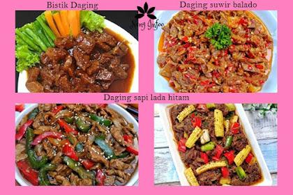 4 Resep Daging Sapi yang Super Sedap