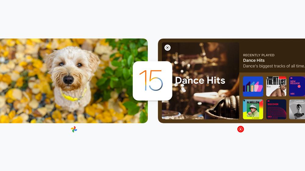 Google aggiorna le sue app su iPhone per iOS 15