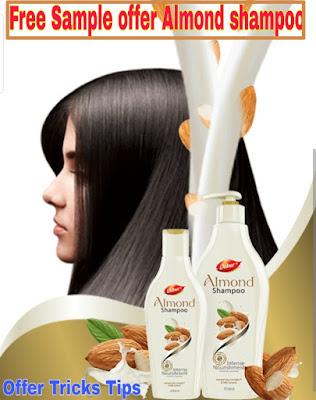 Free Almond shampoo sample :- Free Sample offer Almond shampoo 2019
