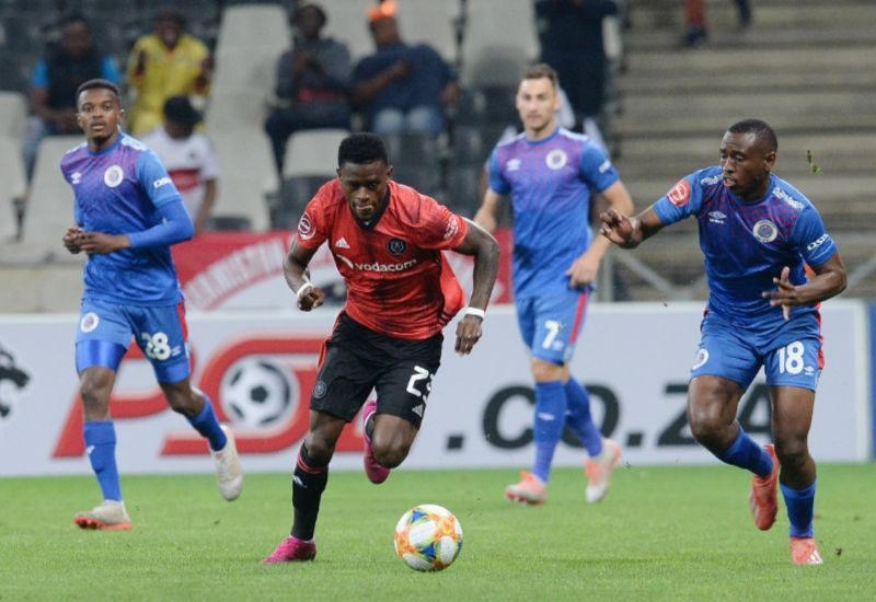 SuperSport United 3-0 Orlando Pirates PSL encounter
