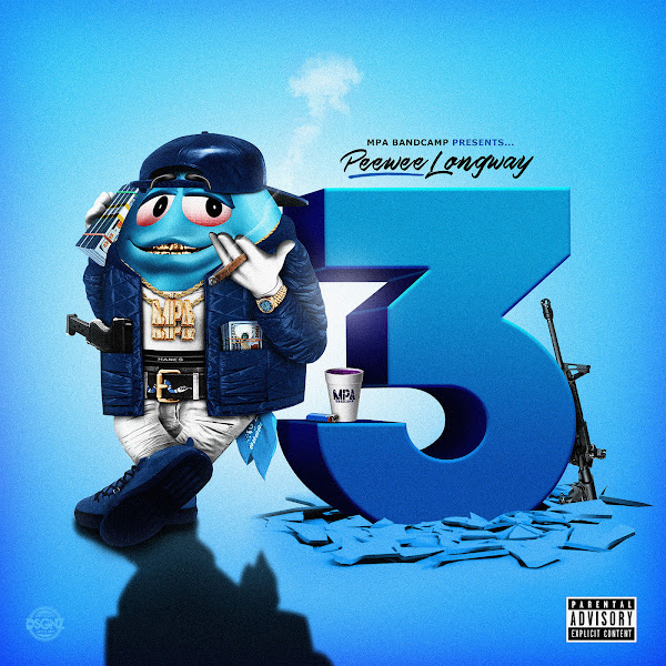 Peewee Longway - The Blue M&M 3 Cover