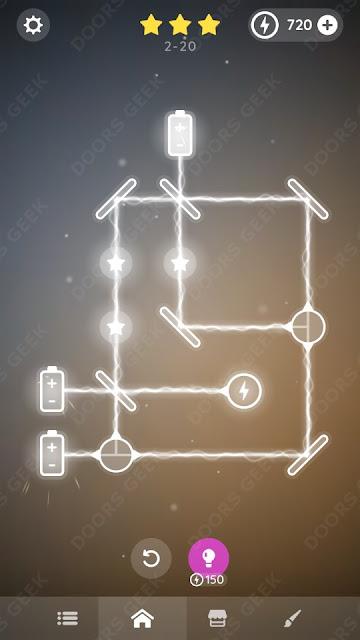 Laser Overload [Beginner] Level 2-20 Solution, Walkthrough, Cheats