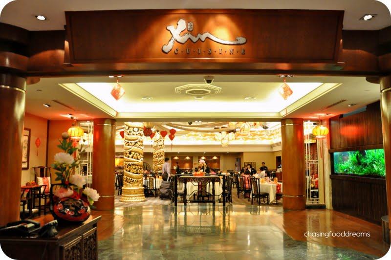 Chasing Food Dreams Xin Cuisine Concorde Hotel Kuala Lumpur