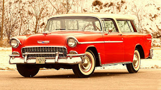 1955 Chevrolet Nomad Wagon Front Right