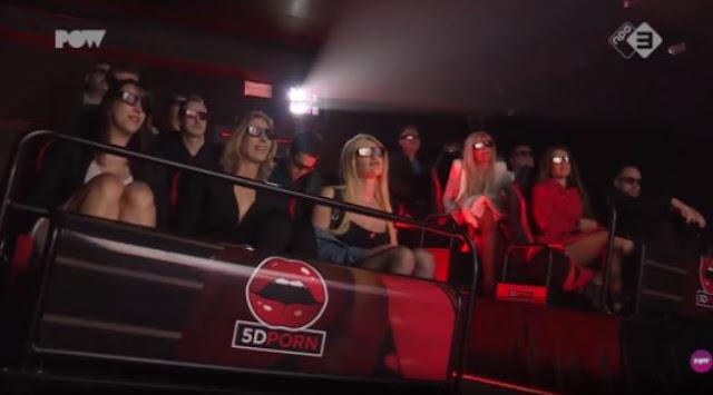 Duh!! di Belanda Ada Bioskop 5D Yang Hanya Menayangkan Film Bokep