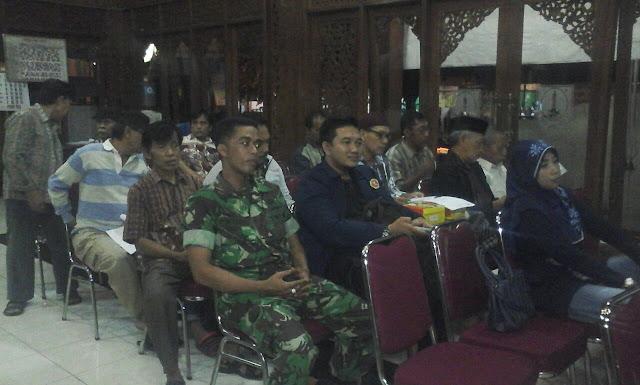Tanggapi Situasi Keamanan, Hari ini Forum Anti Syi'ah Surakarta Lakukan Audiensi dengan Kapolsek Pasar Kliwon