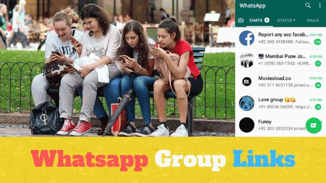 Whatsapp Group links - Best Indian and American hot 18+ girls and unsatisfied women's groups' invitation link list to join and make new friends in 2020.