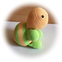 Nephi-Handmade Schildkröte gehäkelt