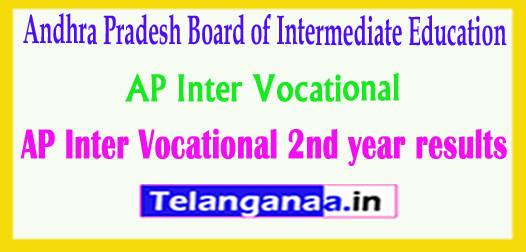 AP Inter (Vocational) 2nd year Results 2018