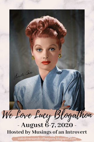 We Love Lucy Blogathon Button