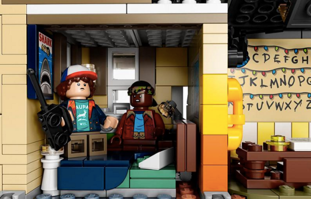 Con 2.287 piezas, Lego recrea el Mundo Invertido de 'Stranger Things'