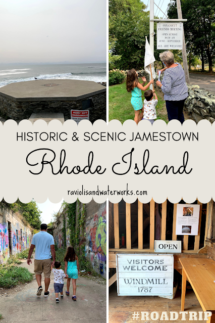 family vacation itinerary for a trip to rhode island