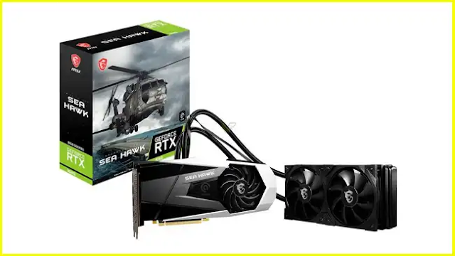 New liquid-cooled MSI GeForce RTX 3080 Sea Hawk X arrives