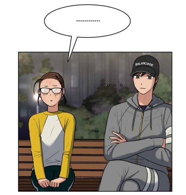 Suho Jukyung di Taman True Beauty Webtoon