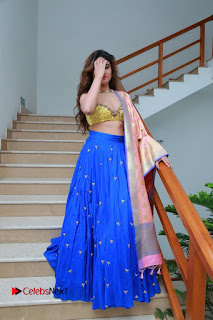 Actress Model Sony Charista Latest Pictures in Lehenga Choli  0101