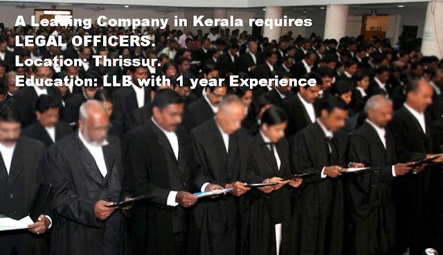 LLB Jobs in Kerala, advocates jobs in kerala latest