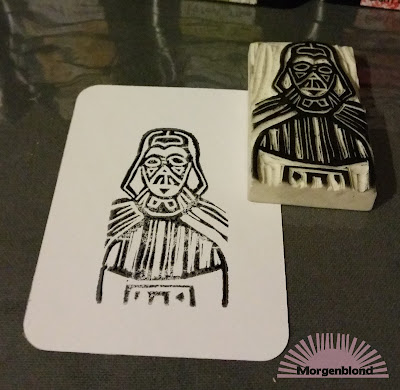 Morgenblond - DIY - Stempel - Star Wars - Darth Vader