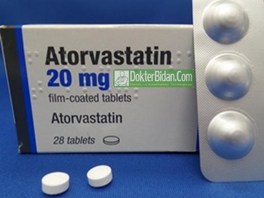 Atorvastatin - Info Dosis Obat Peringatan Pemakaian Manfaat dan Efek Sampingnya Bagi Kesehatan