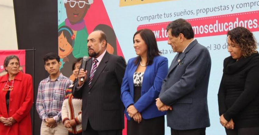 MINEDU: Consulta Ciudadana «Todos Somos Educadores» está en marcha - www.minedu.gob.pe