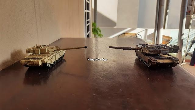 Mô hình lắp ghép 3D xe tăng kim loại M1A2 TUSK