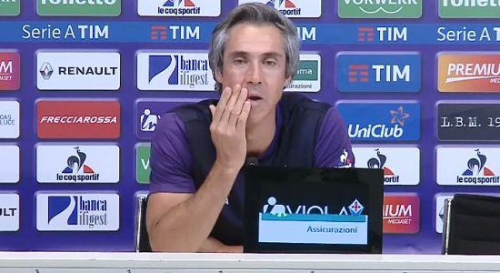 SOUSA, La Fiorentina deve saper superarsi, possiamo vincere tutte le partite. Astori ancora fuori, Vecino ci sarà.