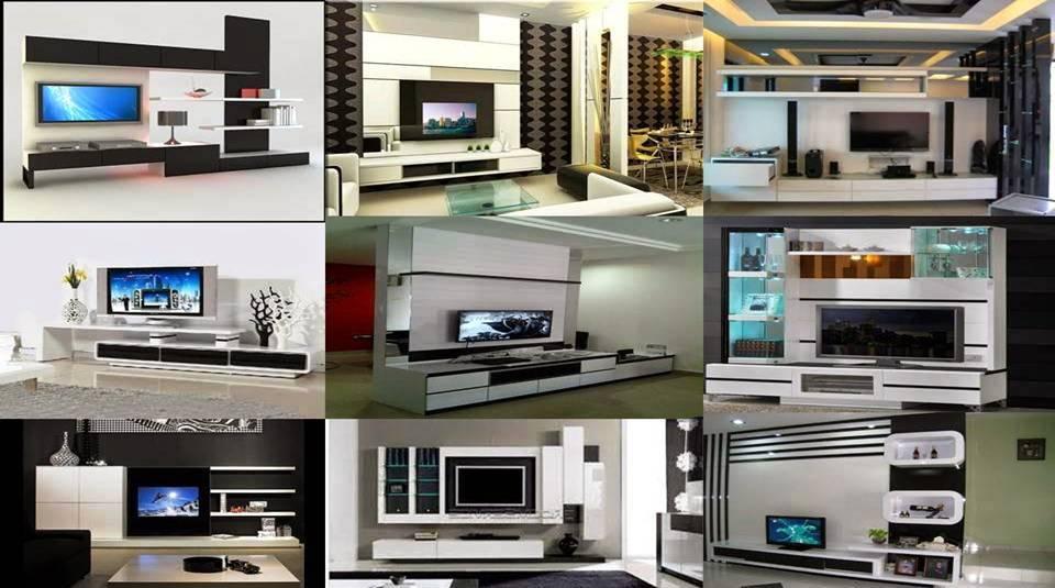 Black & White TV Cabinet Designs Ideas - Decor Units