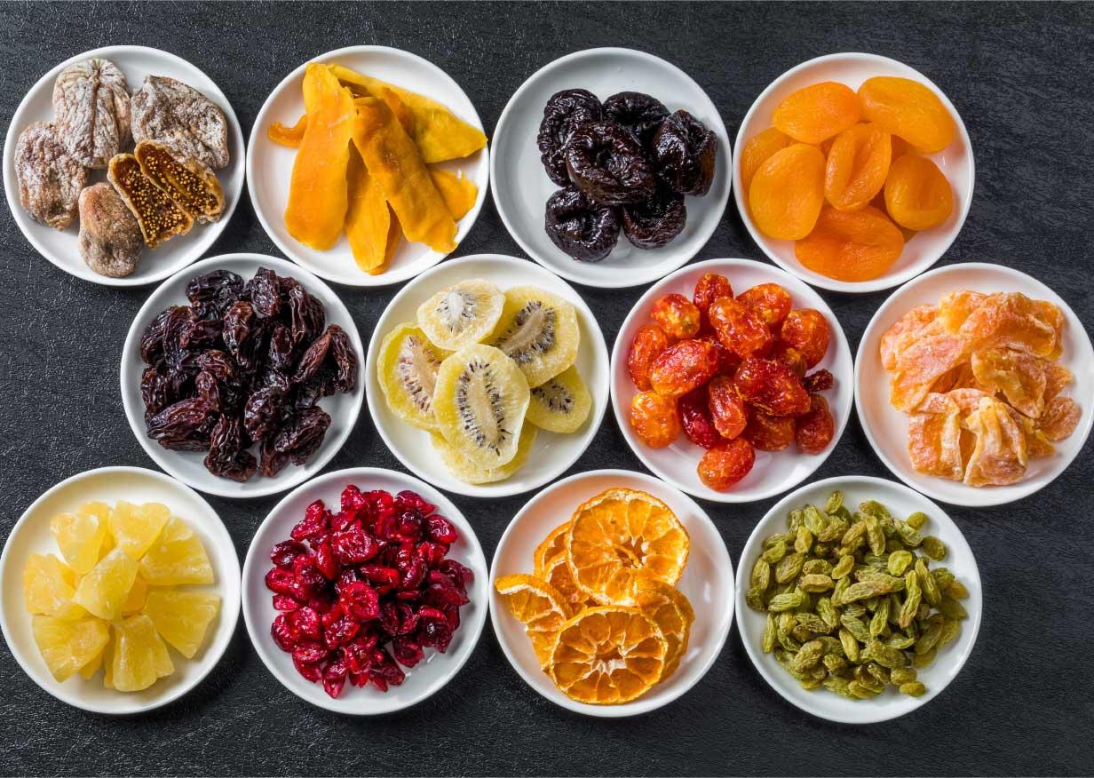 طريقة تجفيف الفاكهة بالمنزل وبطريقة سهلة