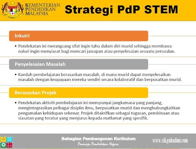 3 Strategi Pdp STEM di Malaysia