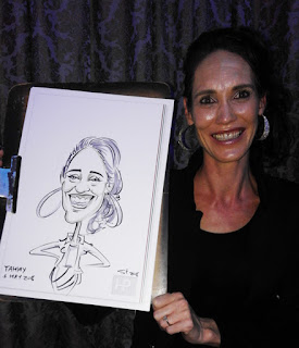 event caricatures Johannesburg South Africa