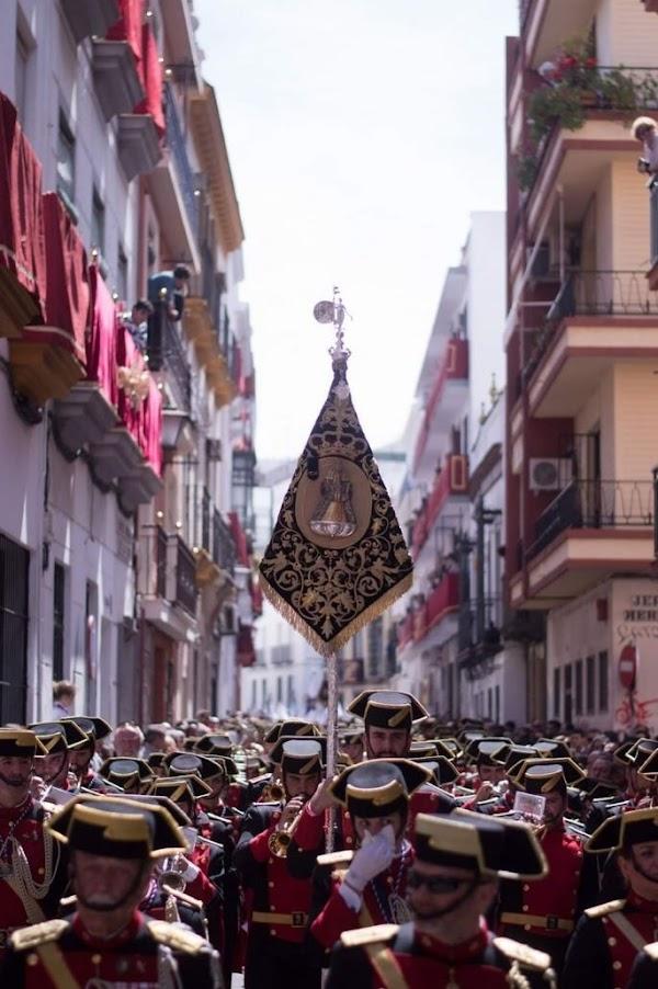 Virgen de los Reyes para la Oración en el Huerto de El Puerto