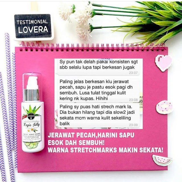 Magic Jelly Lovera Berkesan Untuk Mengurangkan Kelemumur