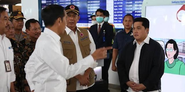Doni Monardo Sebut RS di Daerah Belum Dapat APD, Jokowi: Sudah