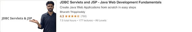 JDBC Servlets and JSP-Java Web Development Fundamentals