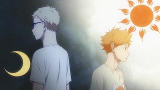 ハイキュー!! アニメ 2期8話 日向翔陽 月島蛍   HAIKYU!! 梟谷学園グループ 合同合宿