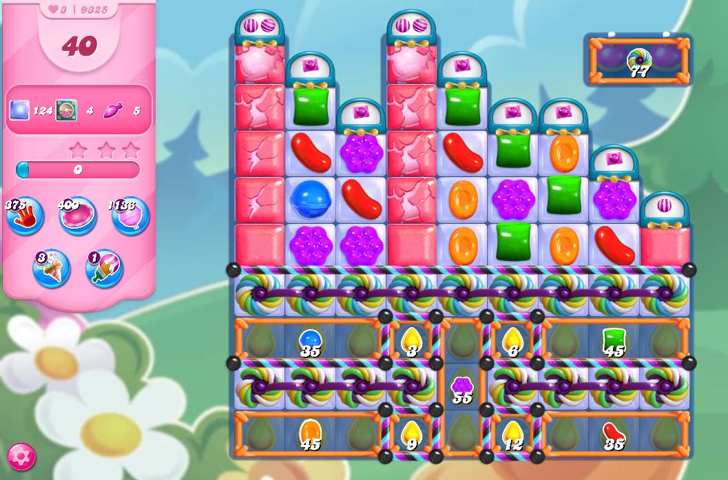 Candy Crush Saga level 9325