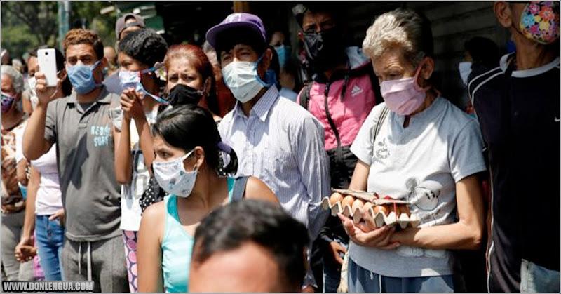 Virus repunta en Venezuela mientras que en el resto del mundo van bajando los casos