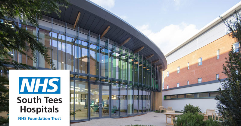 South Tees Hospitals NHS Foundation Trust in UK