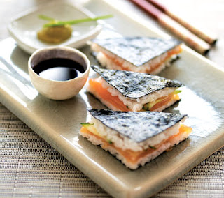 sushi triangles recipe