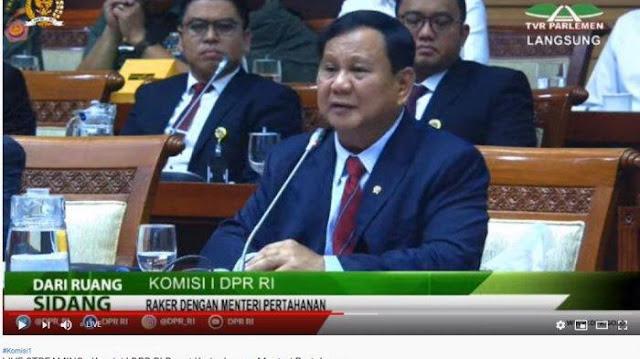 Prabowo: Industri Pertahanan Nasional Masih Banyak Kekurangan