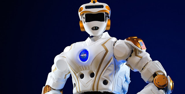 NASA's R5 robot. Photo Credit: NASA