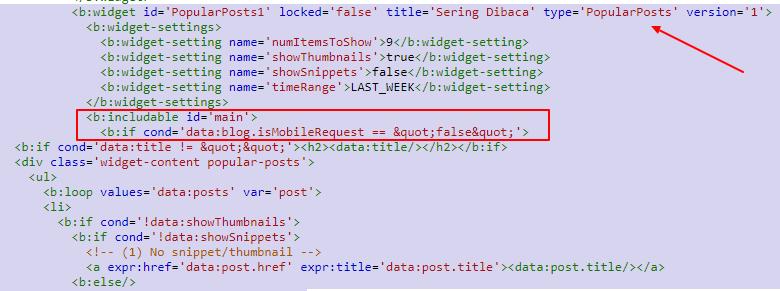 Tag Conditional Blogger Untuk Versi Mobile dan Desktop