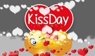 happy kiss day images for facebook