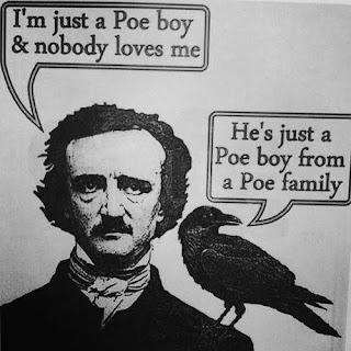 Meme de humor sobre Poe