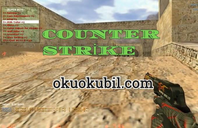 Counter Strike 1.6 Aimbot Hack + Speed Hack Menu Superboy v2 Hileli İndir 2020
