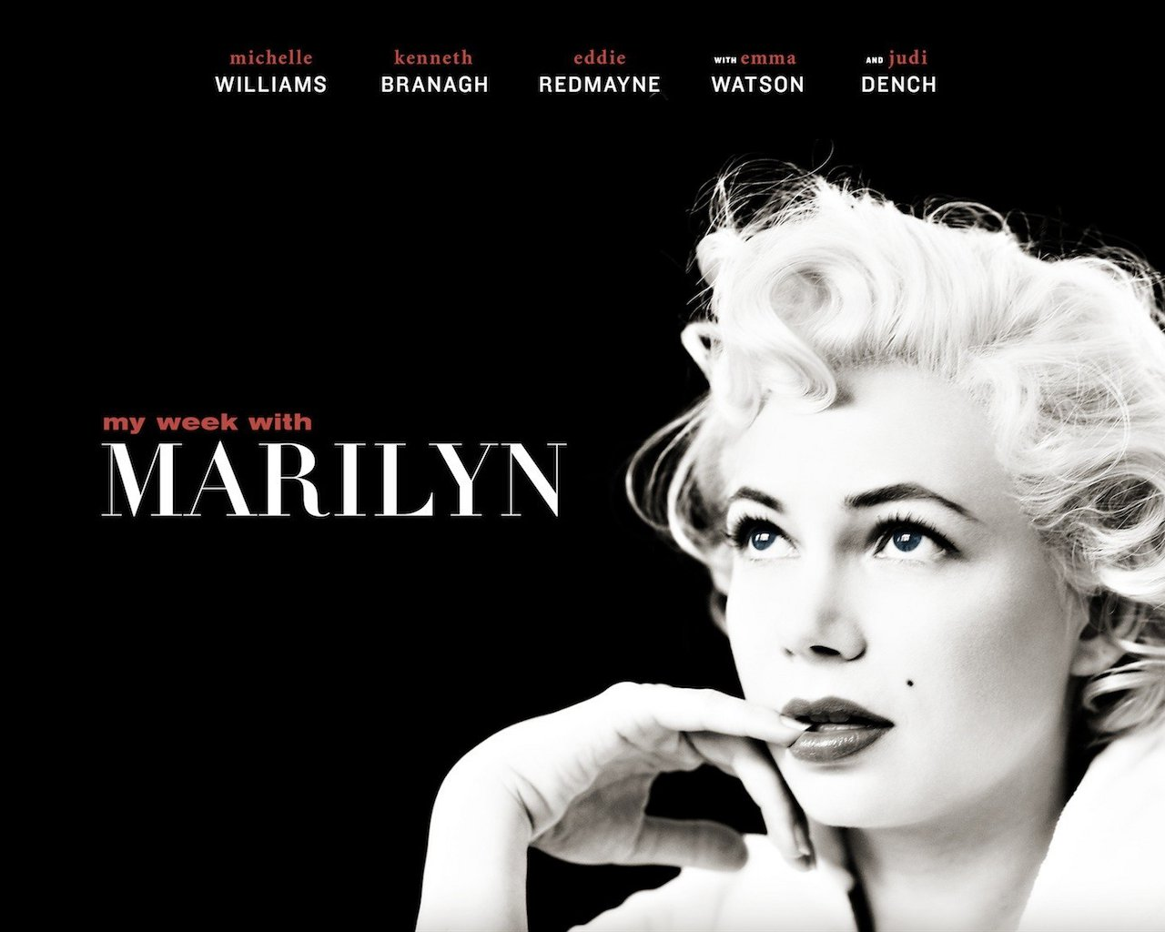 l'histoire d'une fille: My Week with Marilyn (2011)