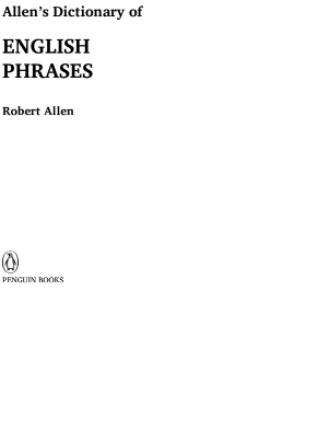 Dictionary of English Phrases : for All Competitive Exam Pdf