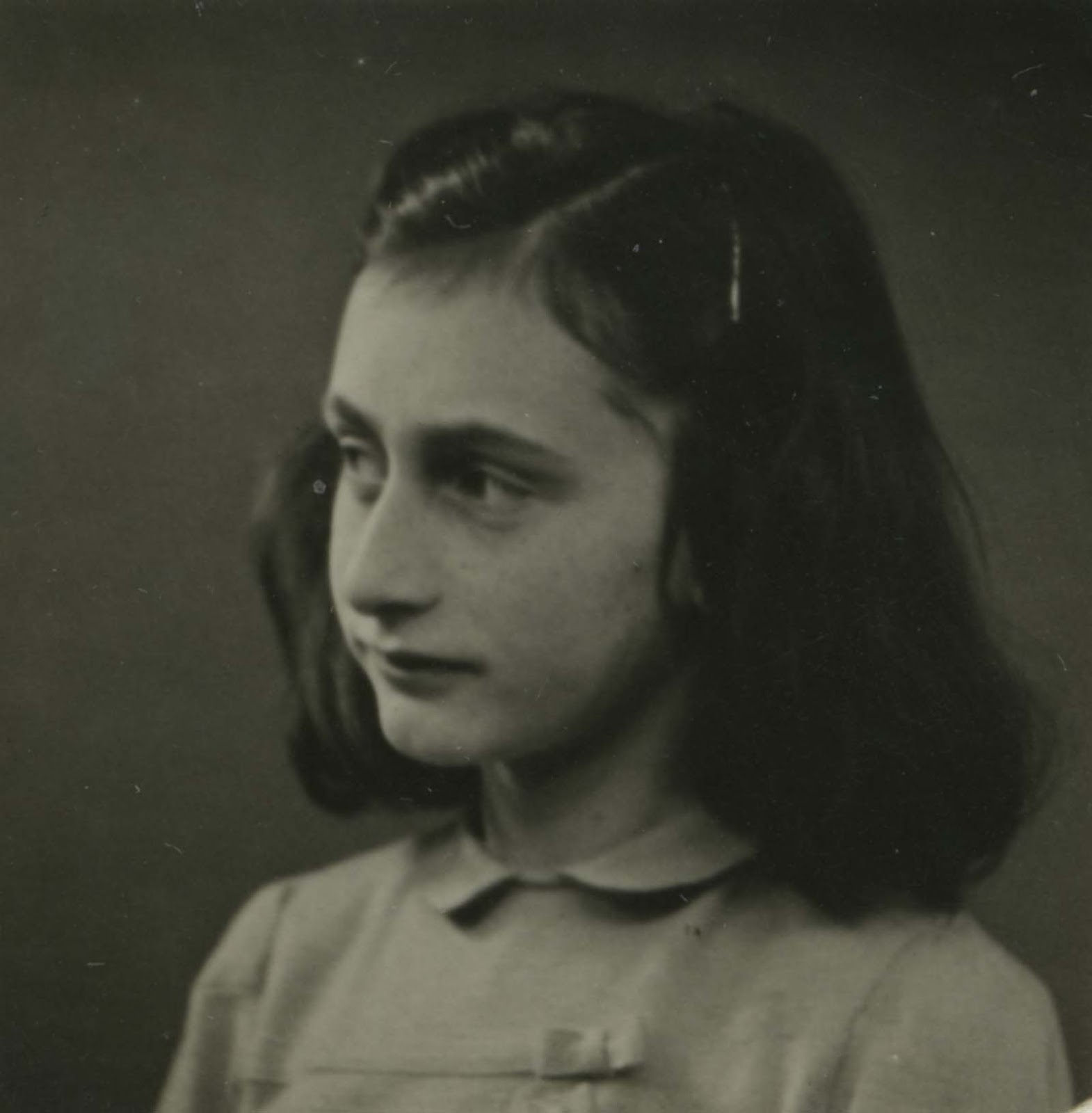 Anne Frank, Amsterdam, May 1941.